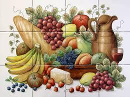 fruit and vegetable baskets garden harvest baskets fruit vegetable tile murals glass by