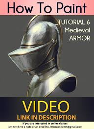 how to paint medieval armor tutorial by jesus c by jesusaconde