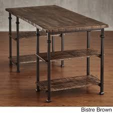 Rustic Wooden Desk Amazon Com Home Myra Vintage Industrial Modern Rustic Storage