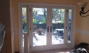 Patio Door With Blinds Between Glass by Andersen French Doors With Built In Blinds Andersen Sliding Doors