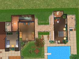 3 Story Houses Mod The Sims 2 Honey Lane A Two Story House With 3 Bedrooms