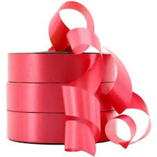 poly ribbon poly ribbon 32mm x 100m watermark silver officemax nz