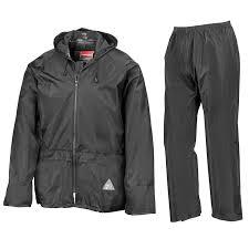 result mens heavyweight waterproof rain suit jacket trouser