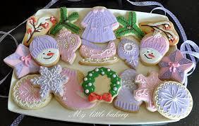 my little bakery christmas cookie set cookies pinterest