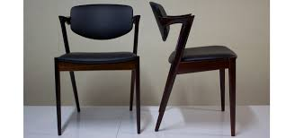 kai kristiansen mid century danish chairs