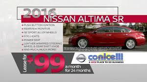 nissan altima 2016 lease price 99 mo altima u0026 178 mo rogue at conicelli nissan bottom line