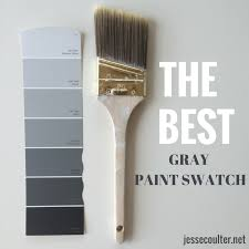 Shades Of Grey Paint The Perfect Shade Of Gray Paint Gray House And Living Rooms