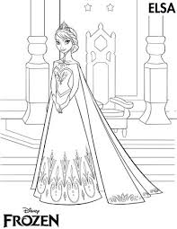 30 30 Free Frozen Colouring Pages Images