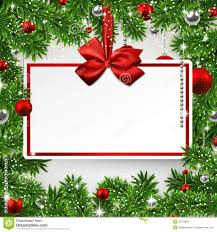 Invitation Card Stock Christmas Frame With Invitation Card Stock Images Image 35781864