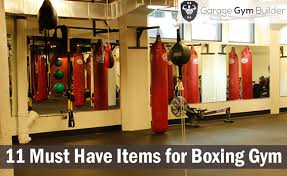 must have home items 11 must have items for making your home boxing gym
