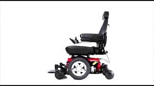 Jazzy Power Chair Battery Replacement Pride Mobility Jazzy 600 Es Power Wheelchair Youtube