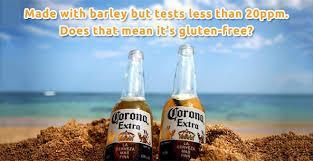 alcohol in corona vs corona light is corona gluten free