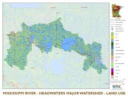 Mississippi River United States Map by Mississippi River Headwaters Minnesota Nutrient Data Portal