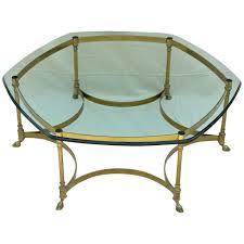 brass and glass end tables best 20 of antique brass glass coffee tables