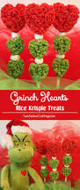 grinch hearts rice krispie treats two sisters crafting