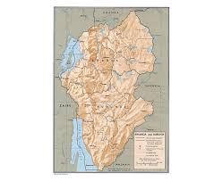 Burundi Africa Map by Maps Of Rwanda Detailed Map Of Rwanda In English Tourist Map