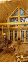 Interior Log Home Pictures by Log Homes By Tomahawk