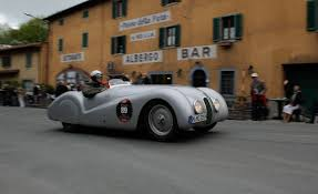 bmw vintage cars bmw celebrates 75th anniversary of mille miglia participation