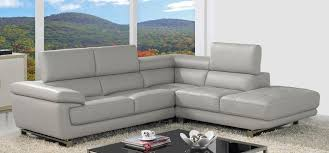 Valencia Corner Taupe Grey HRHF Grey Leather Sofas Sofas - Corner leather sofas