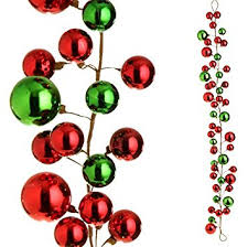 raz imports 4 and green garland for