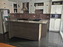 plancher cuisine plancher métallisé dans une cuisine