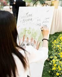 wedding signing 43 dreamy watercolor inspired wedding ideas martha stewart weddings