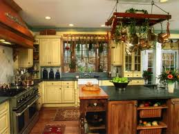 Inexpensive Kitchen Backsplash Country Farmhouse Style Kitchens Cheap Kitchen Backsplash Ideas
