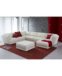 Modular Sectional Sofa Pieces 2017 Latest 6 Piece Leather Sectional Sofa