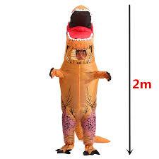 adults inflatable t rex dinosaur costume funny jurassic halloween