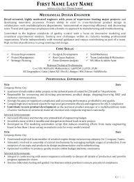 Sample Of Resume For Mechanical Engineer Sample Resume Mechanical Engineer Industrial Design Engineer