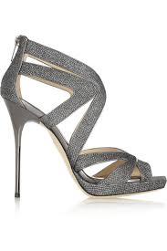 grey bridesmaid shoes editor s jimmy choo wedding shoes modwedding