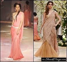 bride seek for easy wear saree gown free indian wedding planning