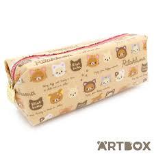 buy pencil buy san x rilakkuma cat faces zipped pencil at artbox