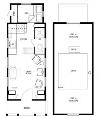 Large Cabin Floor Plans Diy Inspiration Living Large In A Tiny House Tiny House Plans