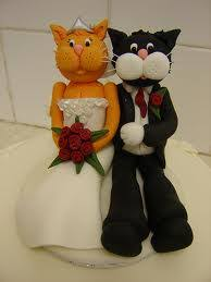 cat wedding cake topper the wedding specialiststhe wedding
