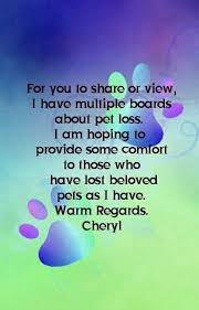 Poems Of Comfort For Loss I Have Multiple Boards With Pet Loss Pins Offering Comfort To