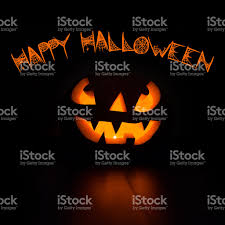 scary halloween photo background scary halloween pumpkin on black background stock photo 615909414
