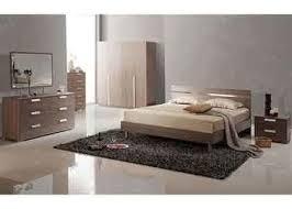 low back headboard bed melamine bedroom furniture with big dresser