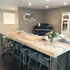 Best  Bar Behind Couch Ideas On Pinterest Table Behind Couch - Dining room table with sofa seating