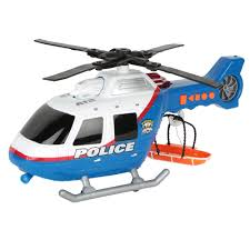 rush u0026 rescue police helicopter toy imagine toys