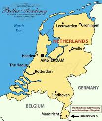 belgium and netherlands map the international butler academy the netherlands
