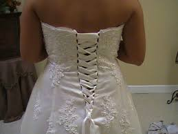 chagne wedding dresses can you change a dress with a zipper to a corset back