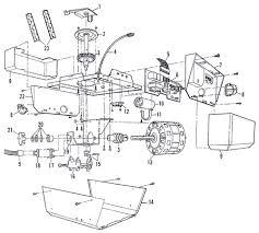 Overhead Door Corporation Parts Sears 139 53513 Garage Door Opener Parts