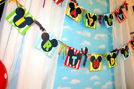 Mickey Mouse Party Theme Decorations - kara u0027s party ideas mickey mouse clubhouse birthday party planning