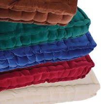 100 cotton square seat pads ebay