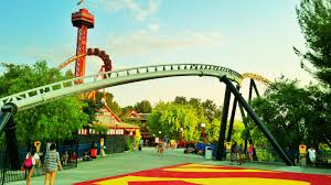Six Flags Fright Fest California Six Flags Magic Mountain Crowds U2013 Is It Packed U2013 Real Time Crowd