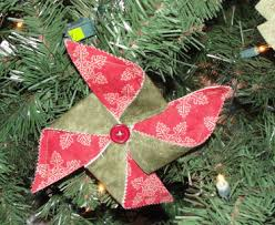 how to make a handmade pin wheel tree ornament how to