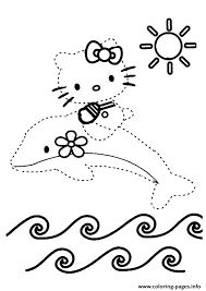 kitty dot dot coloring pages printable