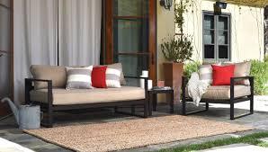 serta at home catalina outdoor sofa with cushions u0026 reviews wayfair