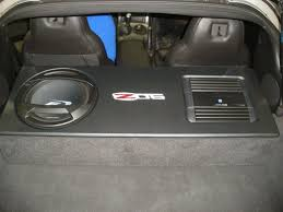 chevy corvette sub box chevy corvette subwoofer box c6 corvette